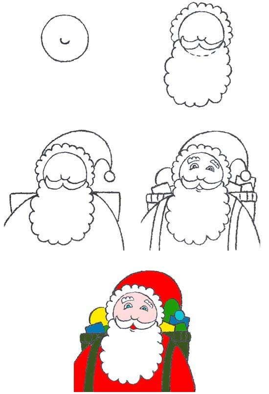 Рисунок для деда мороза своими руками